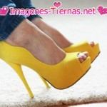 zapatos amarillo patito