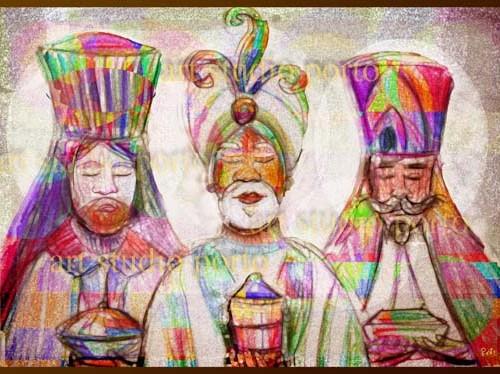 Tres Reyes magos 2013