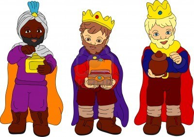 reyes magos bebes